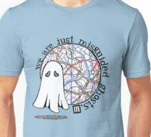 Misguided Ghost Design Unisex T-Shirt