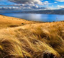 Droughty Hilltop in Autumn - Hobart, Tasmania by clickedbynic
