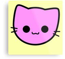 Kawaii Kitty Cats 2048 - tile 2 Metal Print