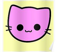Kawaii Kitty Cats 2048 - tile 2 Poster