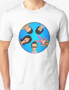Bob's Burgers Circle Blue Unisex T-Shirt