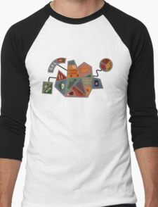 DHMIS - Food Shape Don't hug Me I'm Scared 5 Men's Baseball ¾ T-Shirt
