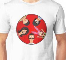 Bob's Burgers Circle Red Unisex T-Shirt