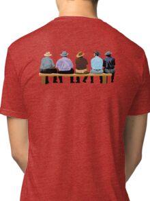 the spectators Tri-blend T-Shirt