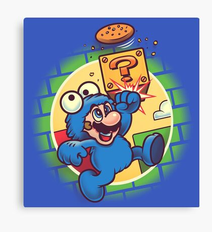 Super Cookie Bros Canvas Print