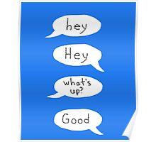 I Am A Conversation Expert Poster