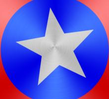 Captain America Red/Silver/Blue Shield Sticker