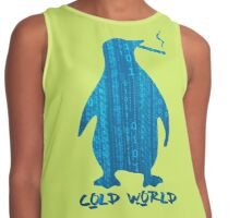 Cold World (Computer Love) Contrast Tank