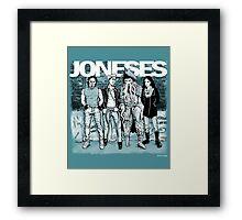 The Joneses Framed Print