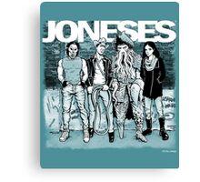 The Joneses Canvas Print