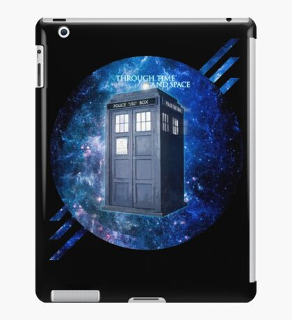 THROUGH TIME AND SPACE 3  iPad Case/Skin