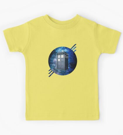 THROUGH TIME AND SPACE 3  Kids Tee