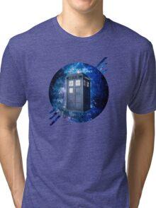 THROUGH TIME AND SPACE 3  Tri-blend T-Shirt