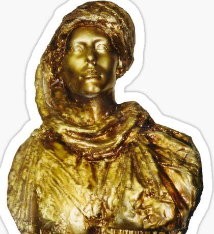 Damsel in Gold Sticker