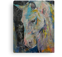 Hidden Heart Horse Canvas Print