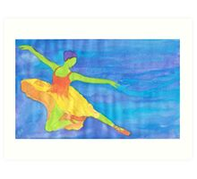 Galaxy Dance Art Print