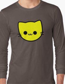 Kawaii Kitty Cats 2048 - tile 4 Long Sleeve T-Shirt