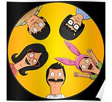 Bob's Burgers Circle Yellow Poster