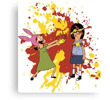 Louise and Tina Sauce Canvas Print