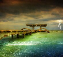Sea @ Storm by Dragos Dumitrascu