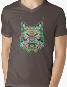 Lynx Mens V-Neck T-Shirt
