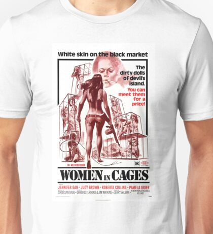 Women in Cages Unisex T-Shirt