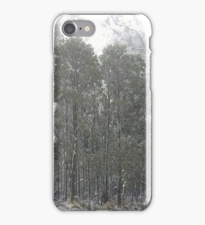 Snow, Mt Macedon iPhone Case/Skin
