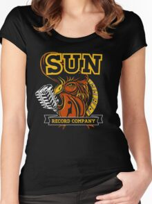 Sun Record Company Women's Fitted Scoop T-Shirt