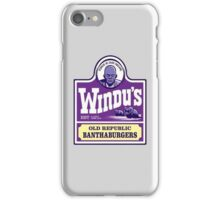 Windu's Banthaburgers iPhone Case/Skin