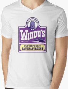 Windu's Banthaburgers Mens V-Neck T-Shirt
