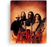 Kar05 SLAYER With ANTHRAX & Death Angel Tour 2016 Canvas Print