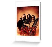 Kar05 SLAYER With ANTHRAX & Death Angel Tour 2016 Greeting Card