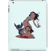 Hawaiian roller coaster ride  iPad Case/Skin