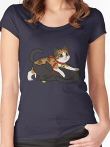 Coeurl Kittens Women's Fitted Scoop T-Shirt