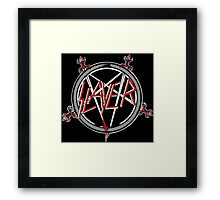 Kar06 SLAYER With ANTHRAX & Death Angel Tour 2016 Framed Print