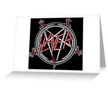 Kar06 SLAYER With ANTHRAX & Death Angel Tour 2016 Greeting Card