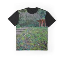 Valley of the Temple Chinese Pavilion  Graphic T-Shirt