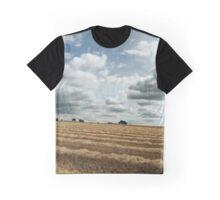 British wheat fields Graphic T-Shirt