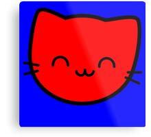 Kawaii Kitty Cats 2048 - tile 8 Metal Print