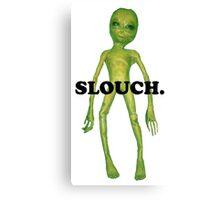 wacky alien - slouch Canvas Print