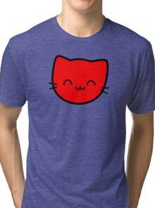 Kawaii Kitty Cats 2048 - tile 8 Tri-blend T-Shirt