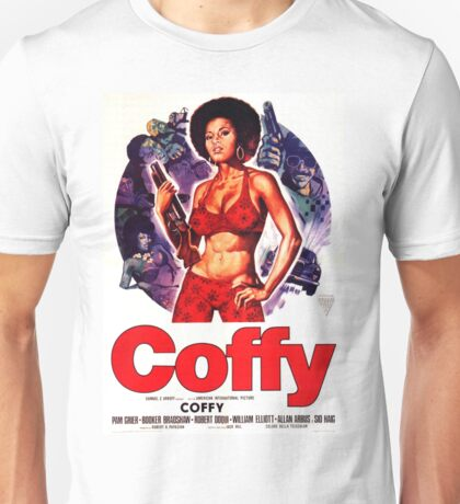 Coffy Alt. (Purple) Unisex T-Shirt