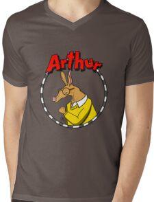 Arthur Aardvark Mens V-Neck T-Shirt