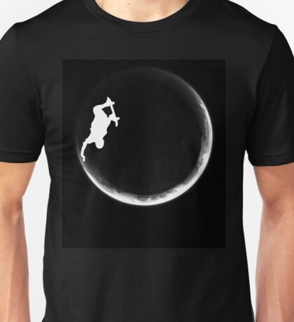 Skate the Moon Unisex T-Shirt