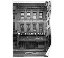 Merchants Cafe, Seattle Poster