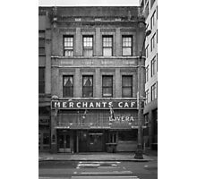 Merchants Cafe, Seattle Photographic Print