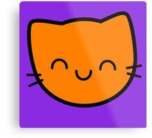 Kawaii Kitty Cats 2048 - tile 16 Metal Print