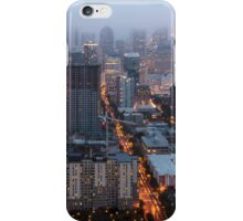 Downtown Seattle at Dusk iPhone Case/Skin