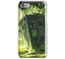 Tardis In The Swamp iPhone Case/Skin
