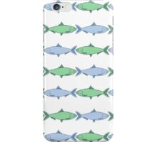 Fish in a Row iPhone Case/Skin